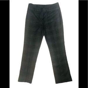Plaid Dream Fit Pants sz 6P